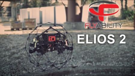 Акция на дрон Elios 2