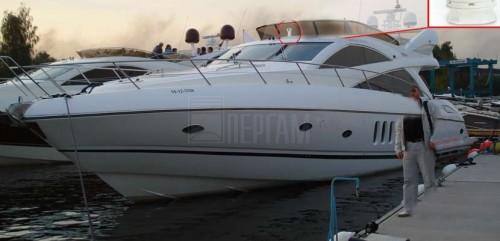 Яхта с тепловизором