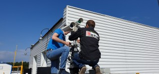 Установили дистанционный детектор метана «ДЛС-КС мини» на ГРС в Бужаниново