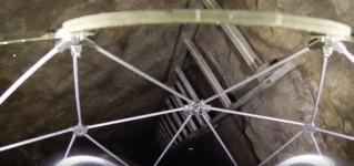 Инспекция врезок в магистральные трубопроводы с помощью противоударного промышленного дрона Elios