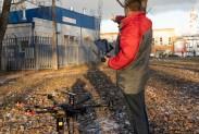 Тест-драйв БПЛА для поиска утечек метана