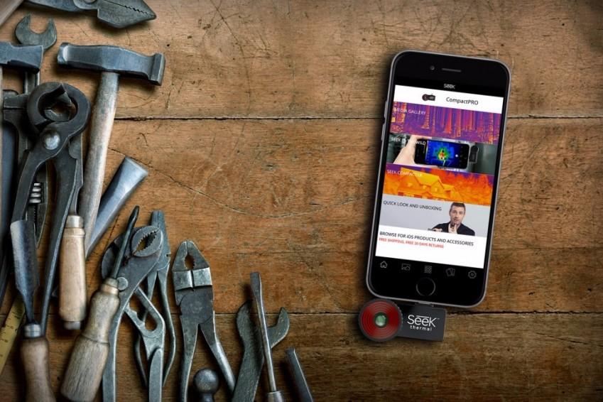 Тепловизор Seek Thermal CompactPRO для iOS