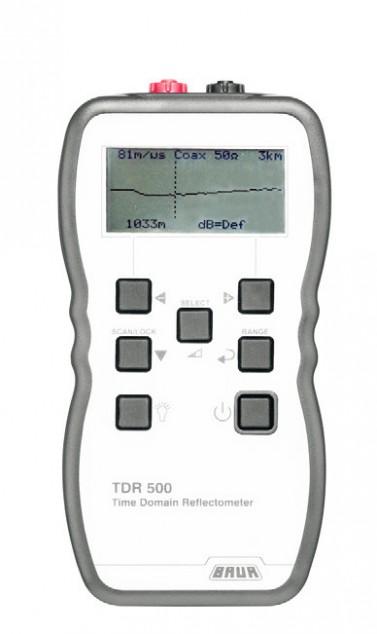 Портативный импульсный рефлектометр BAUR TDR 500