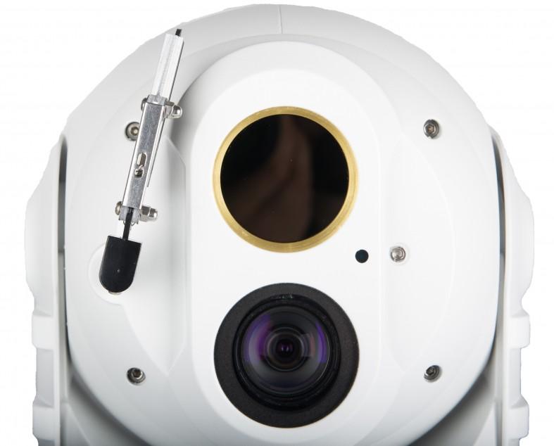 Поворотный тепловизор с видеокамерой