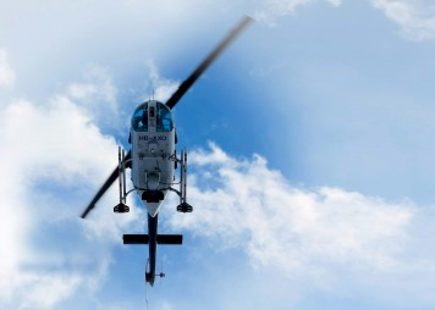ДЛС-Пергам на вертолёте