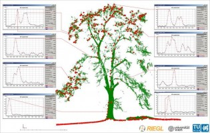 Данные полученные с RIEGL LMS-Q680
