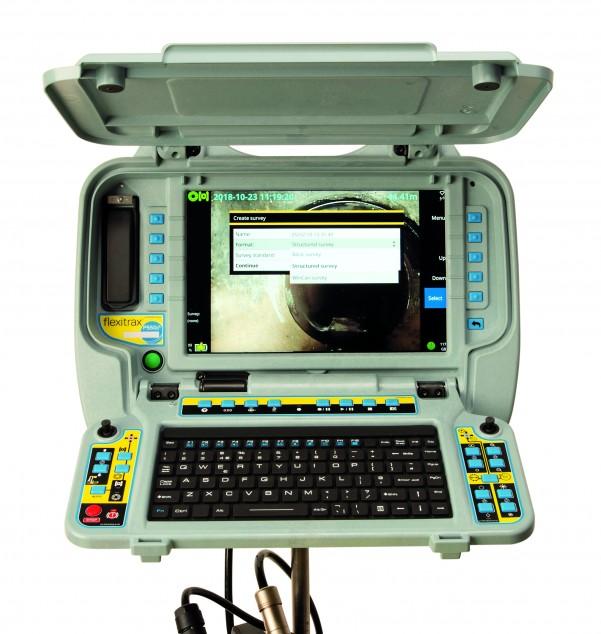Монитор и пульт управления flexitrax P550c