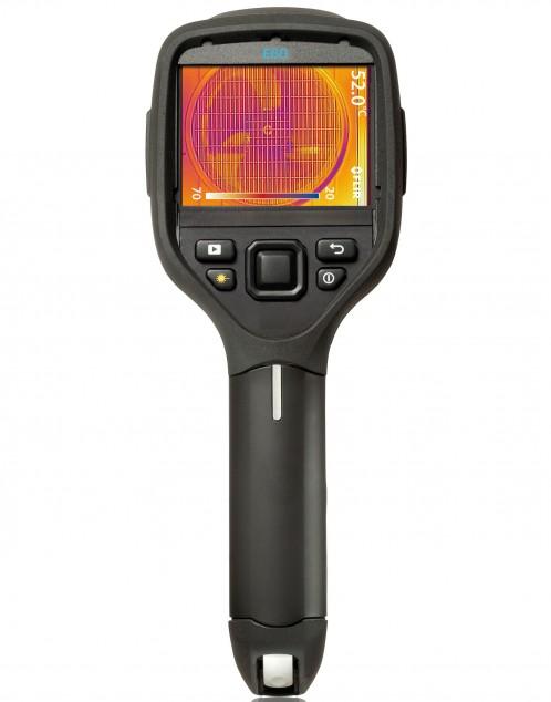 FLIR E60bx тепловизионное обследование вентиляции