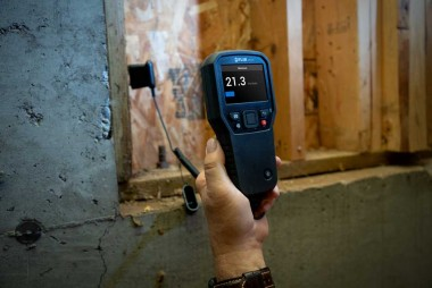 Измерение влажности с помощью FLIR MR265