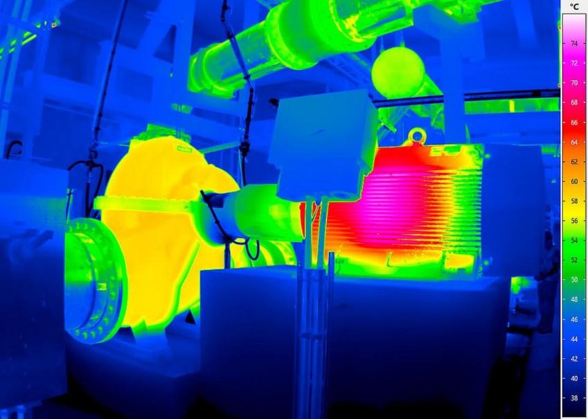 Термограмма с тепловизора VarioCAM HD inspect 700