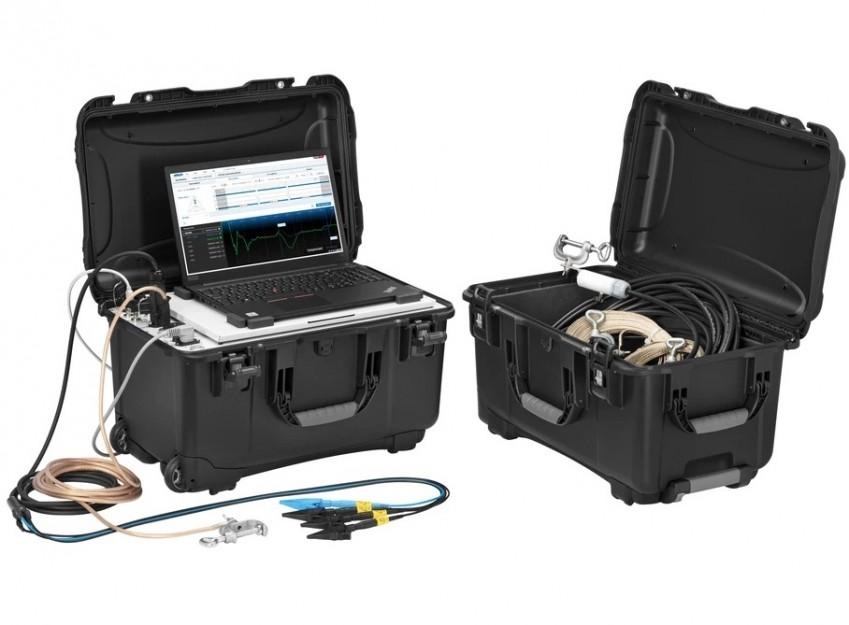 BAUR IRG 4000 portable