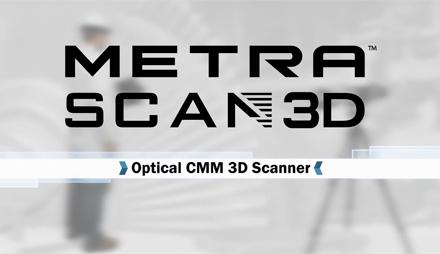 Creaform MetraSCAN 3D