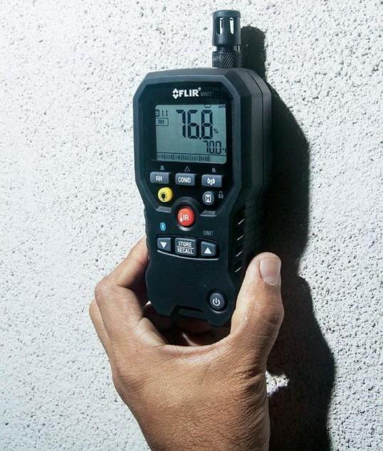 Измерение влажности стен