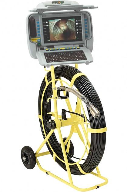 Система телеинспекции труб большого диаметра