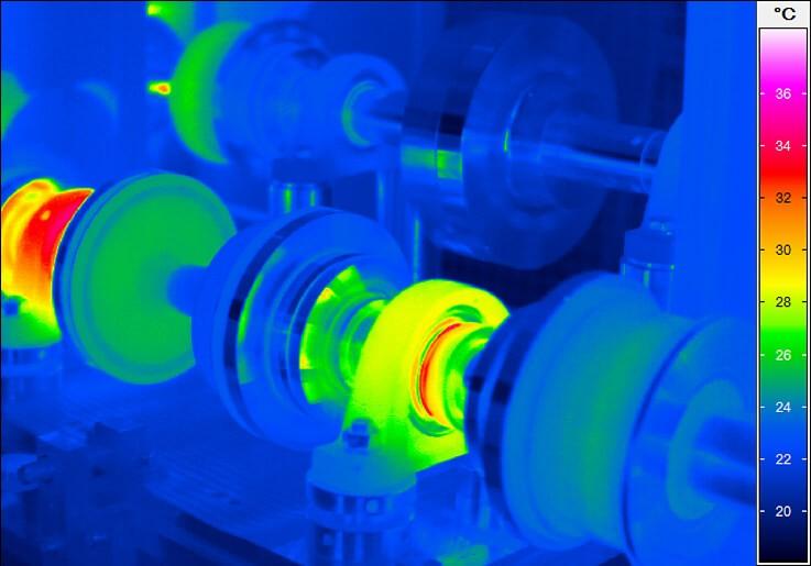 Термограмма с тепловизора VarioCAM HD research 700