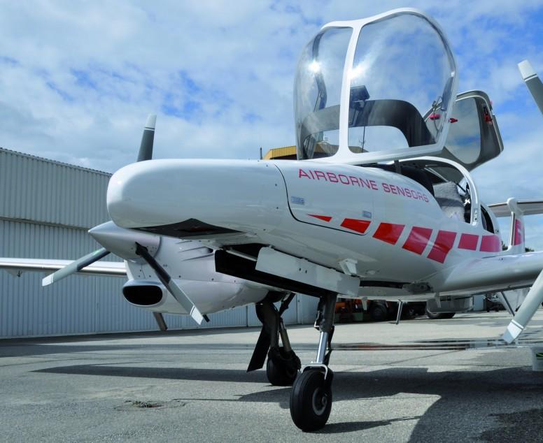 Самолёт с 3D сканером на борту
