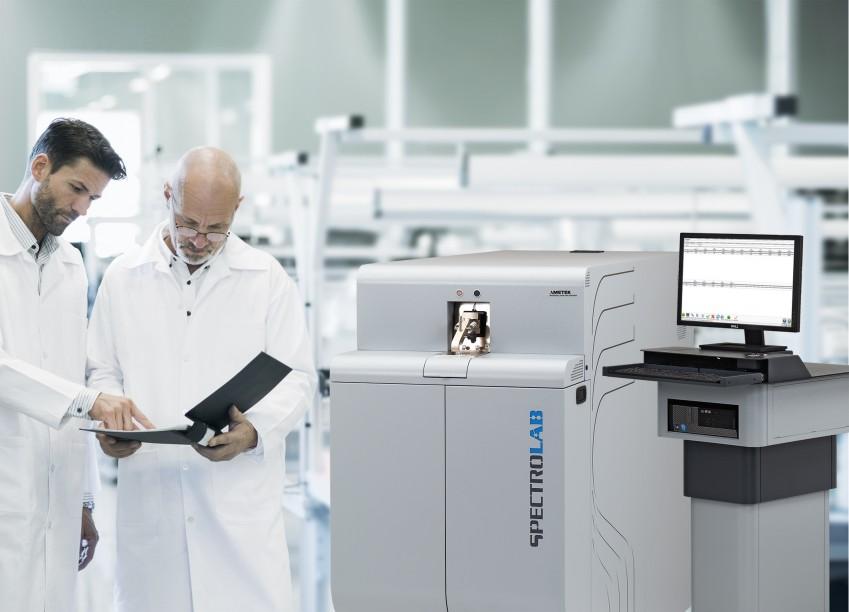 Анализ данных со спектрометра на производстве