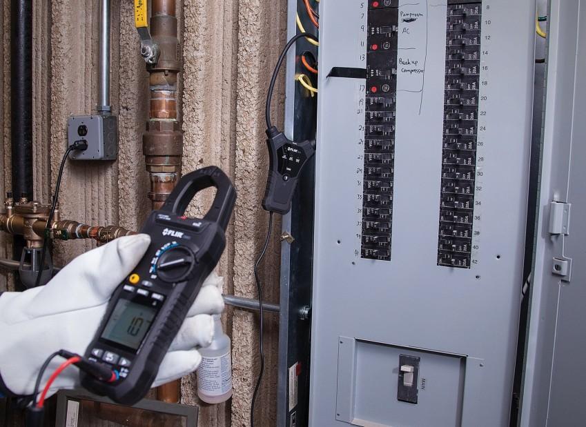 Измерение тока FLIR TA74 и CM83