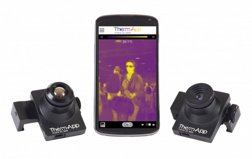Opgal Therm-App для смартфона