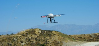 Microdrones и Pergam USA создали дрон для поиска утечек метана