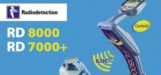 Расширенная гарантия 24 месяца на трассопоисковые системы Radiodetection RD8000 и RD7000+