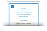 Сертификат GE Power