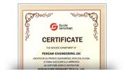 Сертификат Guide sensmart