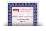 Сертификат Panametrics