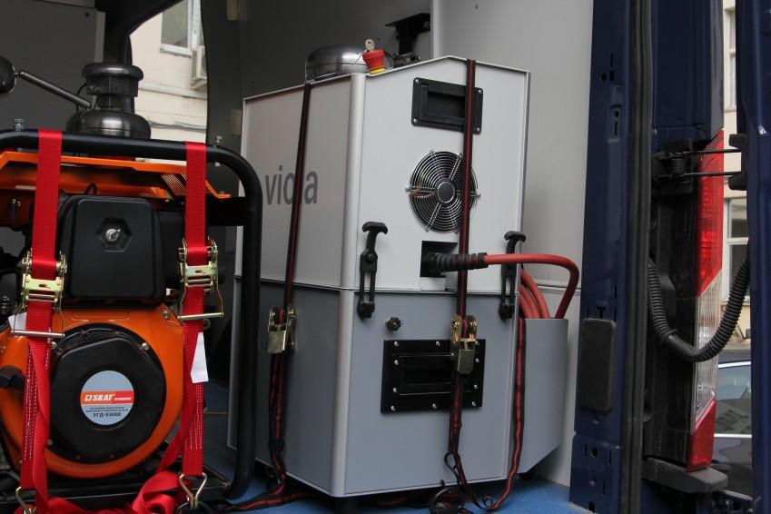 Установка для испытания кабеля с изоляцией из сшитого полиэтилена