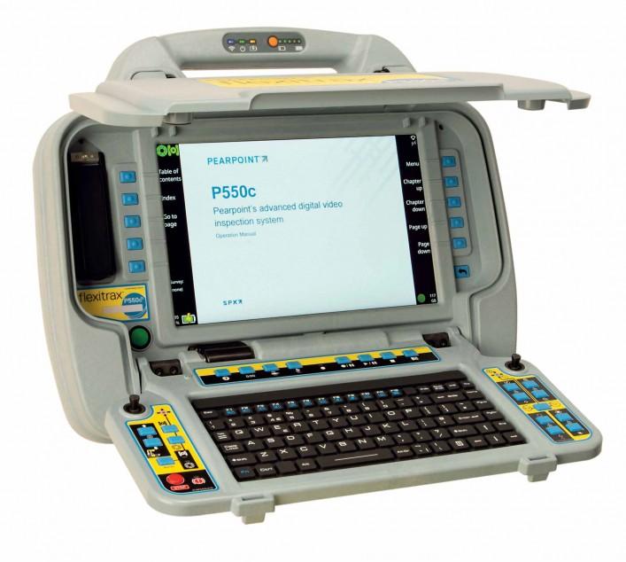 Монитор телеинспекционной системы